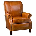 Hanover Traditional Leather Reclining Chair