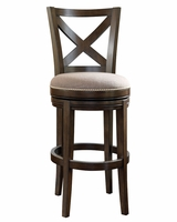 "Harris ""Ready To Ship"" X Back Swivel Bar & Counter Stool Collection"