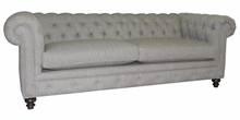 Hastings Chesterfield Fabric Queen Sleeper Sofa