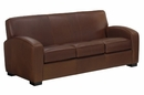 "Hayden ""Designer Style"" Contemporary Italian Leather Sofa"