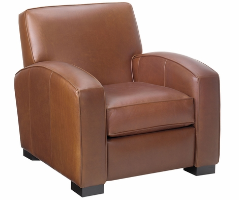 Hayden Contemporary Leather Recliner