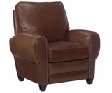 Hennessey Tall Leather Cigar Recliner Chair
