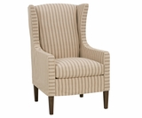 Hillary Slipcovered Wing Back Chair
