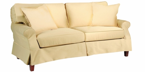 Holly Slipcovered Apartment Size Sofa Collection