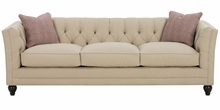 Isadore Tufted Back Fabric Sofa Group