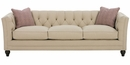 """Isadore """"Designer Style"""" Tufted Back Queen Sleeper (2 Cushion)"""