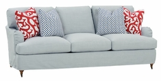 "Ivy ""Designer Style"" Apartment Size Slipcovered Queen Sleeper Sofa (2 Cushion)"