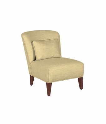 "Jane ""Designer Style"" Armless Bedroom Accent Chair"