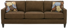 "Janice ""Designer Style"" Contemporary 3-Seat Fabric Upholstered Sofa"