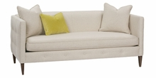 "Jeanette ""Designer Style"" Bench Seat Apartment Sofa"