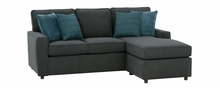 Jennifer Apartment Size Reversible Chaise Track Arm Sectional