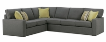 Jennifer Fabric Upholstered Sectional Sofa