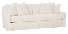 "Joanna ""Designer Style"" Oversized Slipcovered Sofa"