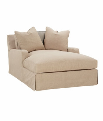 furniture gt joanna quot designer style quot two arm oversized chaise