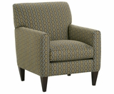 Kelly Contemporary Fabric Occasional Chair