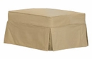 "Kendall ""Grand Scale"" Slipcover Ottoman"