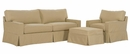 "Kendall ""Grand Scale"" Slipcover Sofa Set"