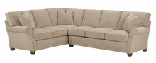 Kenzie Recessed Rolled Arm Sectional