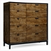 Kipton Contemporary 10 Drawer Bedroom Chest