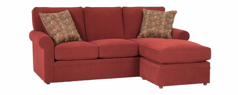 apartment sectional with sleeper and chaise option