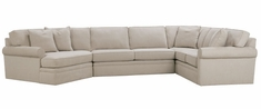 "Kyle ""Quick Ship"" 3 Piece Sectional With Left Facing Cuddler Version 4"