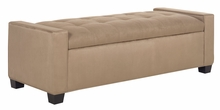 Landon Upholstered Storage Ottoman With Hinged Blind Tufted Top