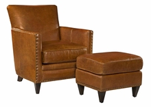 "Leone ""Quick Ship"" Tight Back Leather Chair"