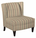 Lila Armless Wingback Accent Chair