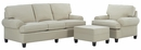 Lilly Fabric Upholstered Sofa Set