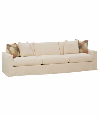 "Lindsey ""Designer Style"" 3 Lengths Select-A-Size Grand Slipcovered Sofa"
