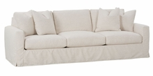"Lindsey ""Designer Style"" Select-A-Size Slipcovered Sofas"
