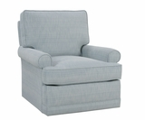 Lisa Swivel Glider His And Hers Accent Chair