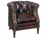 "Louis ""Designer Style"" Tufted Accent Chair"