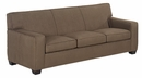 Luke Fabric Upholstered Studio Full Sleeper Couch