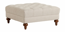 """Luther """"Quick Ship"""" Square Tufted Ottoman"""