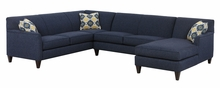 Lyla Tight Back Modular Fabric Sectional Sofa