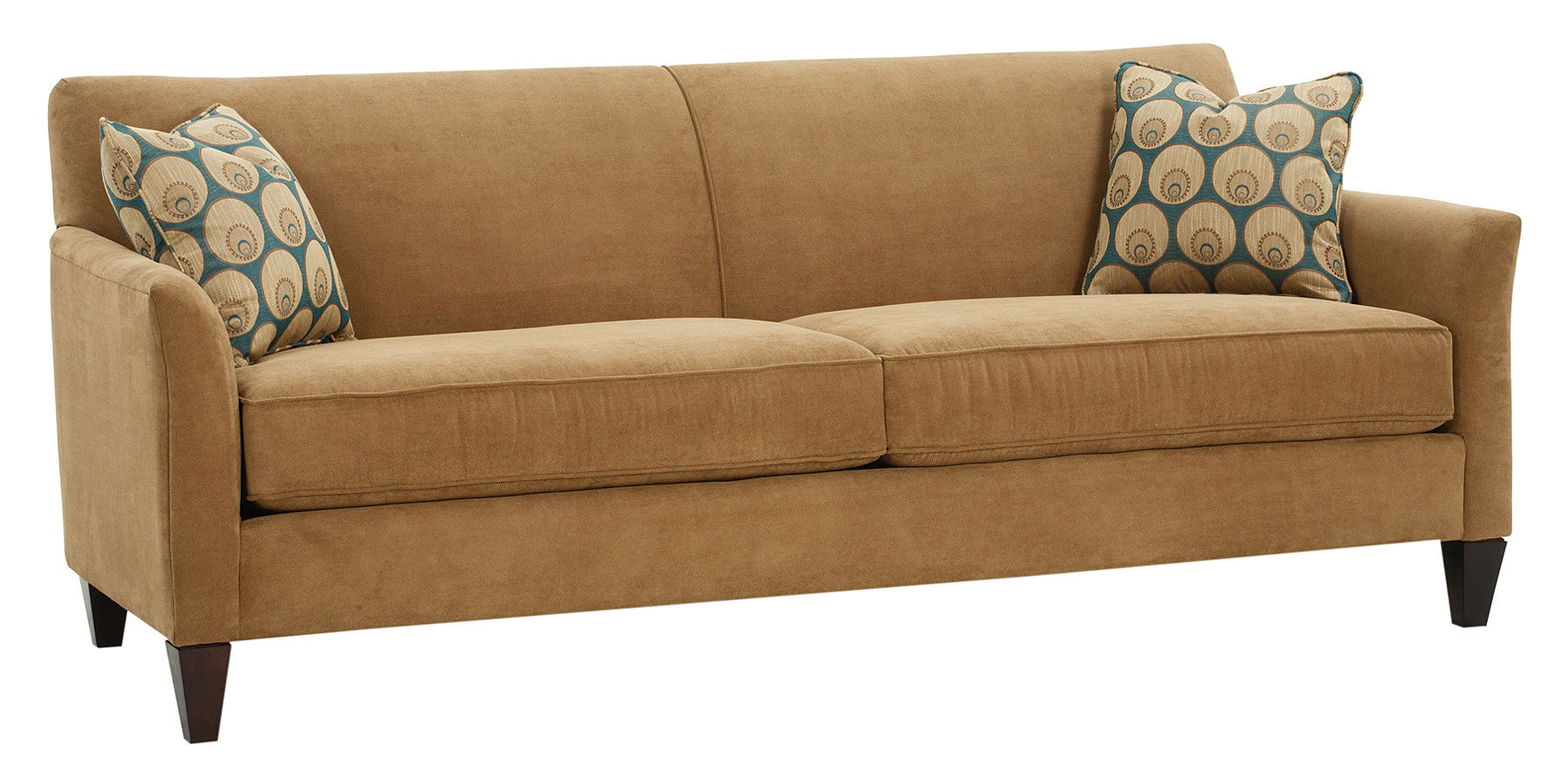 Tight Back Fabric Wing Arm Sofa Collection Club Furniture