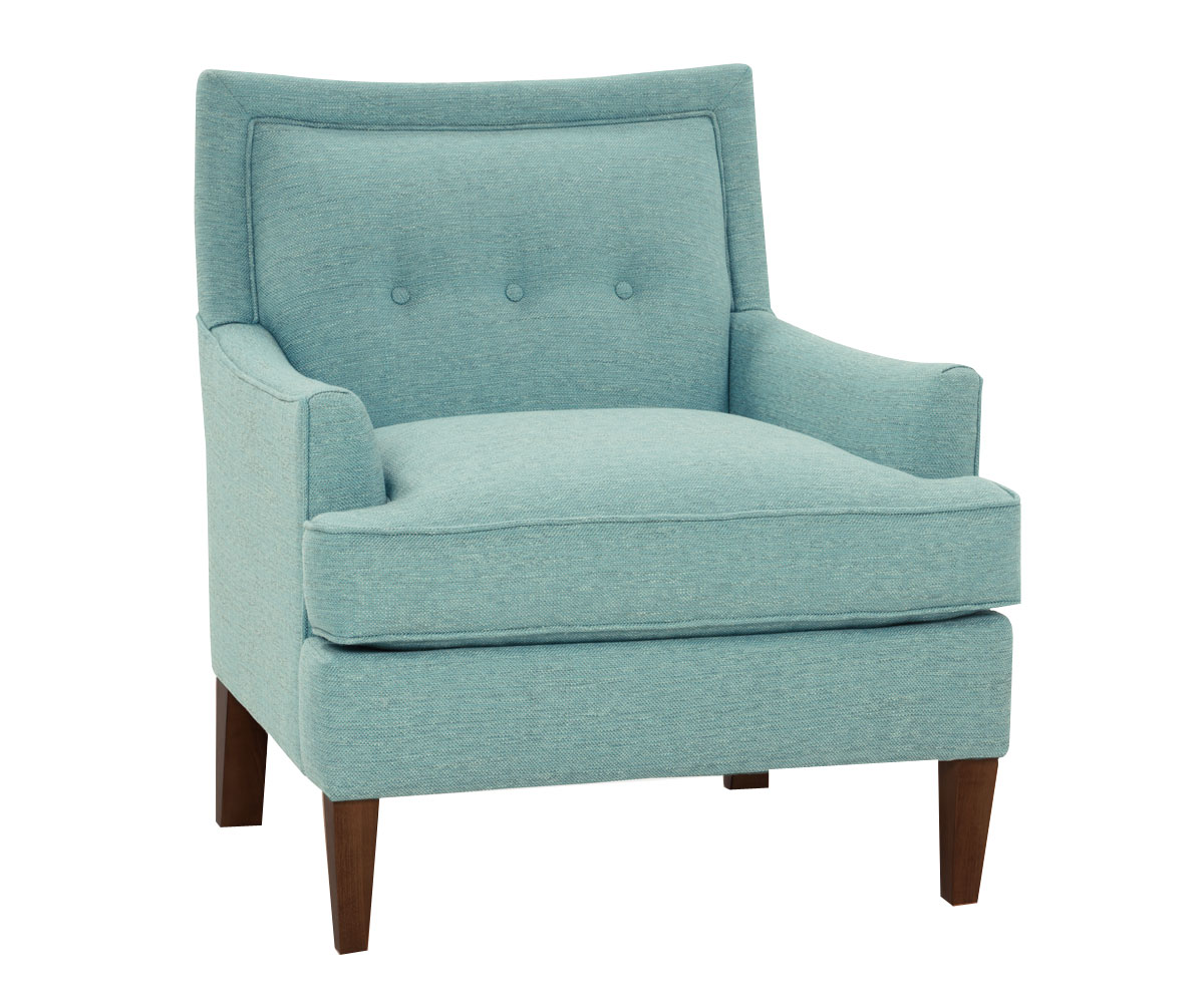 "Whitley ""Designer Style"" Hers and His Fabric Accent Chairs Fabric Upholstered Accent Chairs"