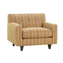 "Margo ""Designer Style"" Contemporary Fabric Upholstered Chair"