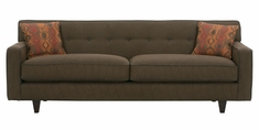 "Margo ""Designer Style"" Contemporary Fabric Upholstered Sofa"