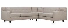 """Margo Collection - """"Quick Ship"""" 2-Piece Sectional (Version 1)"""