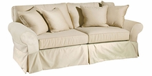 "Marlene ""Grand Scale"" Deep Seat Slipcovered Sofa"