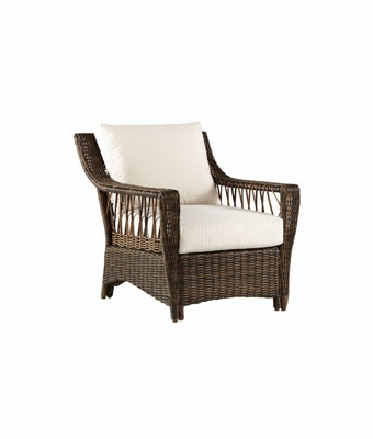 martinique resin wicker outdoor chair