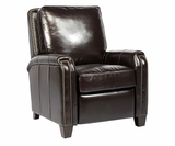 "Matthew ""Quick Ship"" Contemporary Leather Reclining Chair"