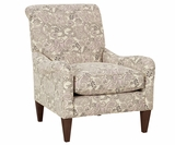 McKenna Tight Back English Arm Accent Chair
