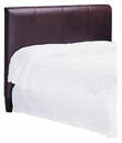 """Mercer Queen Fabric Or """"Designer Style"""" Leather Headboard Only w/ Metal Bed Frame"""