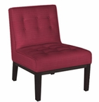 Mia Contemporary Armless Accent Chair