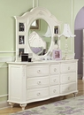 Mirabella 9 Drawer Dresser w/ Photo Mirror