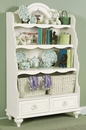 Mirabella Bookcase w/ Two Baskets