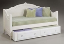 Mirabella Twin Daybed w/ Trundle/Storage Drawer